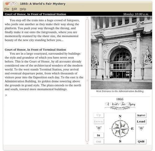 Screenshot of 1893: A World's Fair Mystery